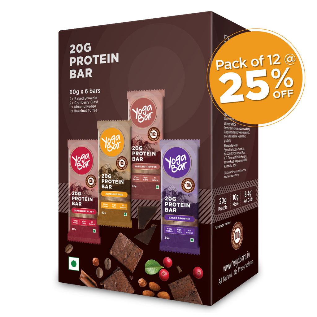 Assorted Protein Bars - 12 Boxes