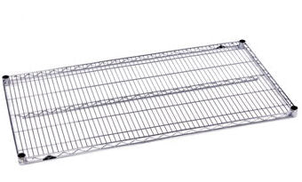 "Metro Super Erecta 14"" X 72"" Chrome Wire Shelf"