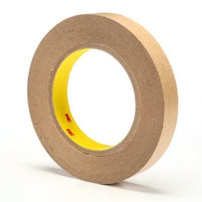 3M 465 Adhesive Transfer Tape Clear 1 in x 60yds, 2 mil