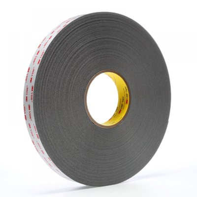 "3M 4941 Comformable Acrylic VHB Foam Tape 3/4"" x 36yds - Gray"