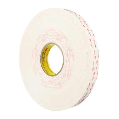 3M 4950 White Acrylic VHB Foam Tape 1 in x 36yds