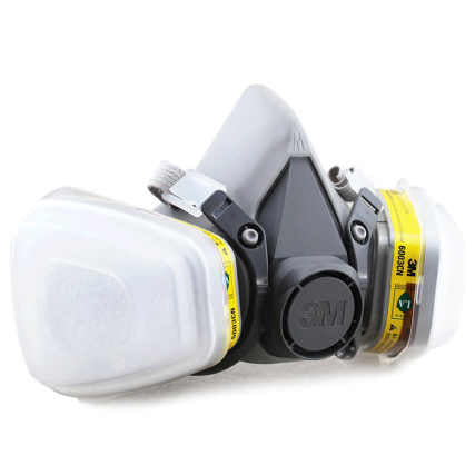3M 6200 + 6003 organic vapor respirator mask protective acid gases for industrial use