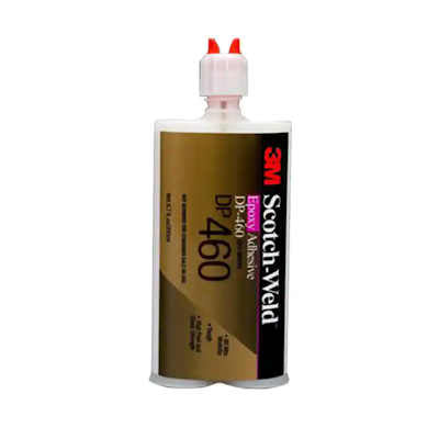 3M Scotch-Weld Structural Adhesive DP-460, 400ml Off White