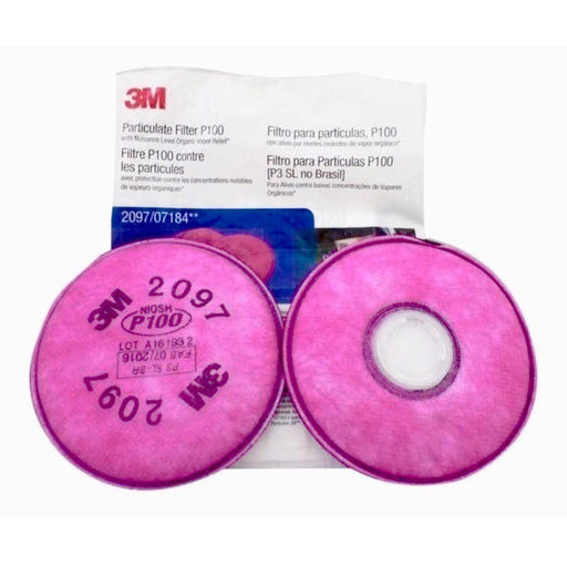 3m 2097 p100 particulate filter