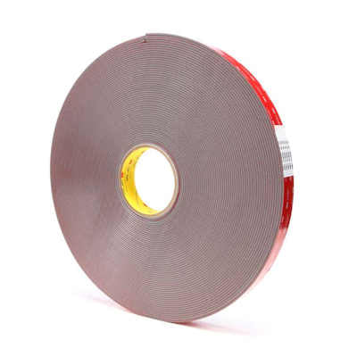 "3M 4991 Comformable Gray Acrylic VHB Foam Tape 1/2"" x 36yds- 0.09"" thick"