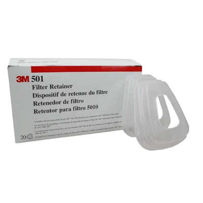 3M 501 Filter Retainers for 5N11 or 5P71, Pack of 20