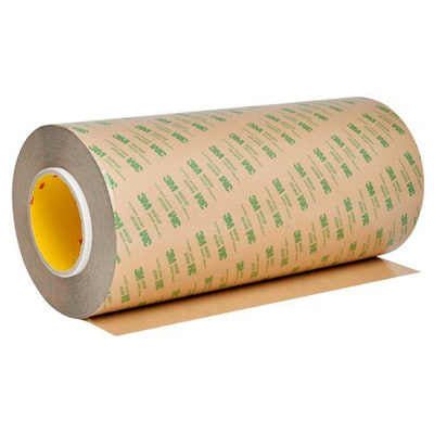 "3M 468MP Adhesive Transfer Tape 12"" x 180yds, 3"" core"