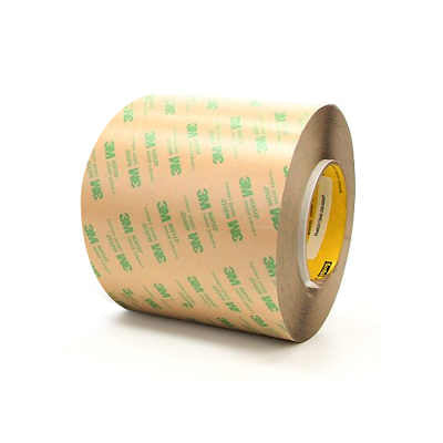 "3M 468MP Adhesive Transfer Tape 4"" x  180yds, 3"" core"