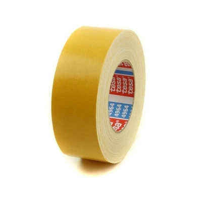 "Tesa 4964 Double Coated Tape with Fabric Backing 2"" x 25M"