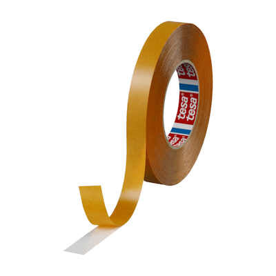 "Tesa 51970 Double Sided Transparent Tape with High Adhesion - 1/2""  x 50M"