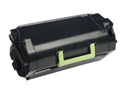 Lexmark 521 High Yield Toner Cartridge - Black - Laser - 25000 pages