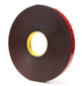 3M 5952 Black Acrylic VHB Foam Tape 3/4 in x 36yds