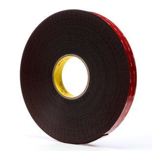 "3M 5952 Black Acrylic VHB Foam Tape 1"" x 36yds"