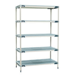 "METROMAX i Open Grid Shelving unit  - 5 Shelf unit - 18"" x 60"" x 74""H"