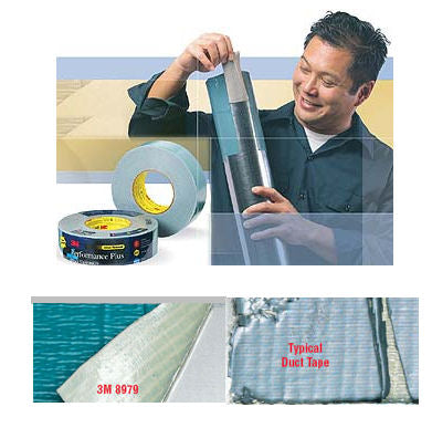 3M 8979 Performance Plus Duct tape 48mm x 55M - Slate Blue
