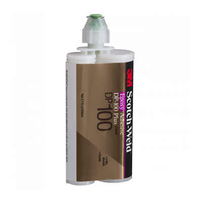 3M Scotch-Weld Epoxy Adhesive DP100, Clear  400ml