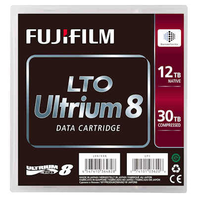 FujiFilm LTO-8 Ultrium Data Cartridge 12TB Native/ 30TB