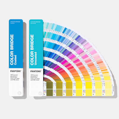 Pantone Color Bridge set- coated & uncoated