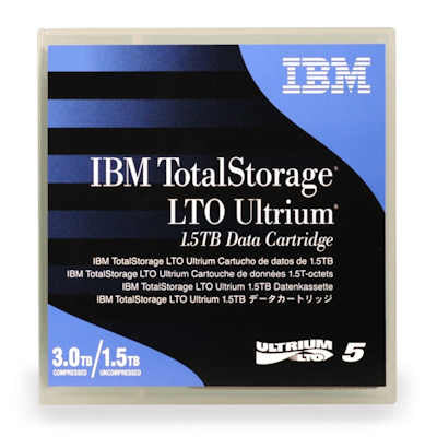 IBM LTO 5 Ultrium Tape Data Cartridge (46X1290)