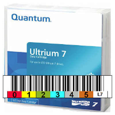 Quantum Ultrium LTO-7 Data Cartridge - Free labelling