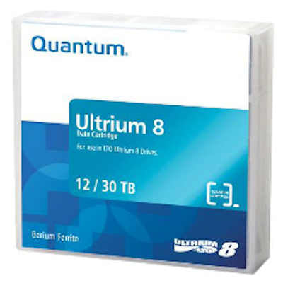 Quantum LTO-8 Ultrium Data Cartridge 12TB Native/ 30TB