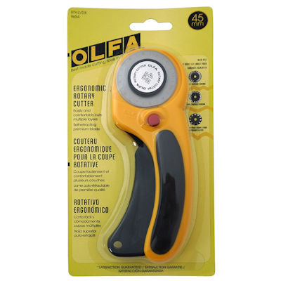 Olfa Deluxe 45mm Rotary Cutter - RTY-2/DX