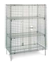 "Metro SEC55C - 50 1/2"" Super Erecta Stationary Security Unit"