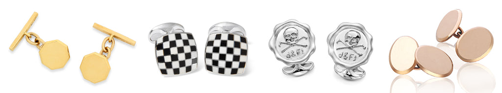 History of the Cufflink Circa 1600 to Today