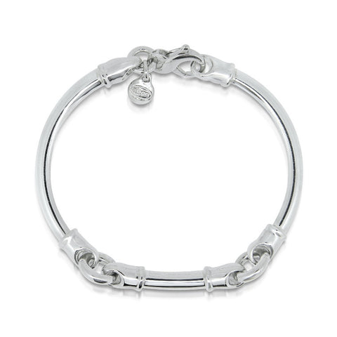 3 piece solid silver Dban bracelet bangle, Imp Jewellery stockists of Dban
