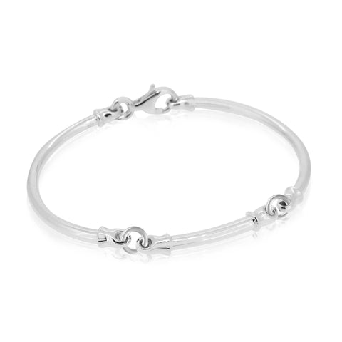 Dban 3-Piece Bracelet, Australian Made with Sterling Silver and 9ct Gold