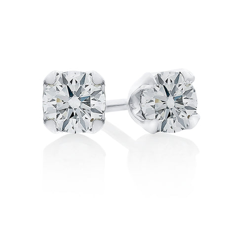 Diamond Stud Earrings 0.73ct I.1637