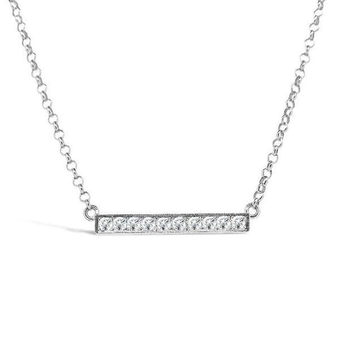'Eternal' 0.52ct 18ct White Gold Diamond Necklet