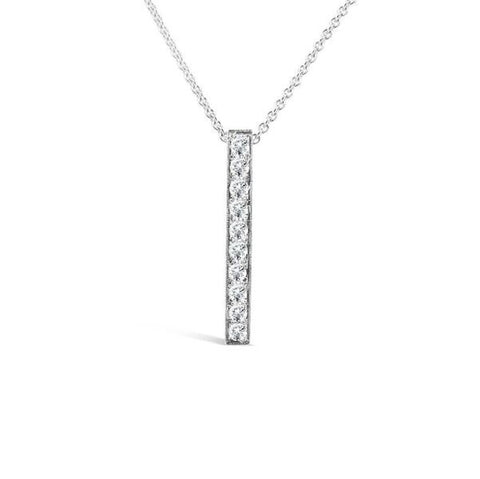 'Eternal' 0.53ct 18ct White Gold Diamond Pendant