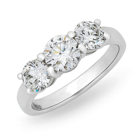 3 Diamond 'Harmony' Ring O.4155
