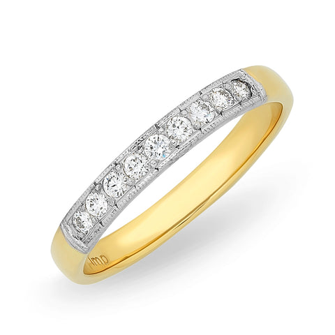 'Eternal' Diamond Set Wedding Bands