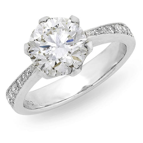 3.02ct Solitaire Diamond Ring O.4179