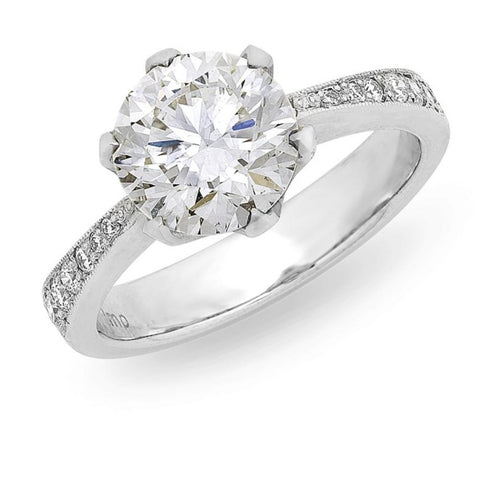 Solitaire Diamond Engagement Ring O.4169