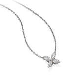 Tiffany & Co. 'Victoria' Platinum Marquise Diamond Pendant