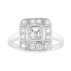 Art Deco style diamond ring   WPR25