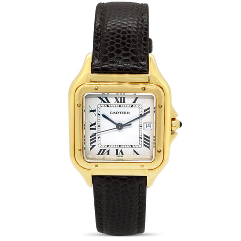 Vintage Cartier Panthere Wrist Watch Circa 1985 P.5404