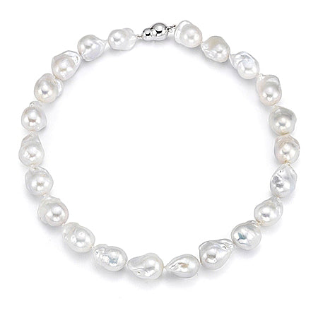 Freshwater Baroque Pearl Necklace Strand