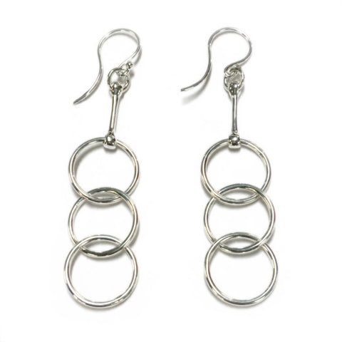 Dban Sterling Silver Drop Earrings