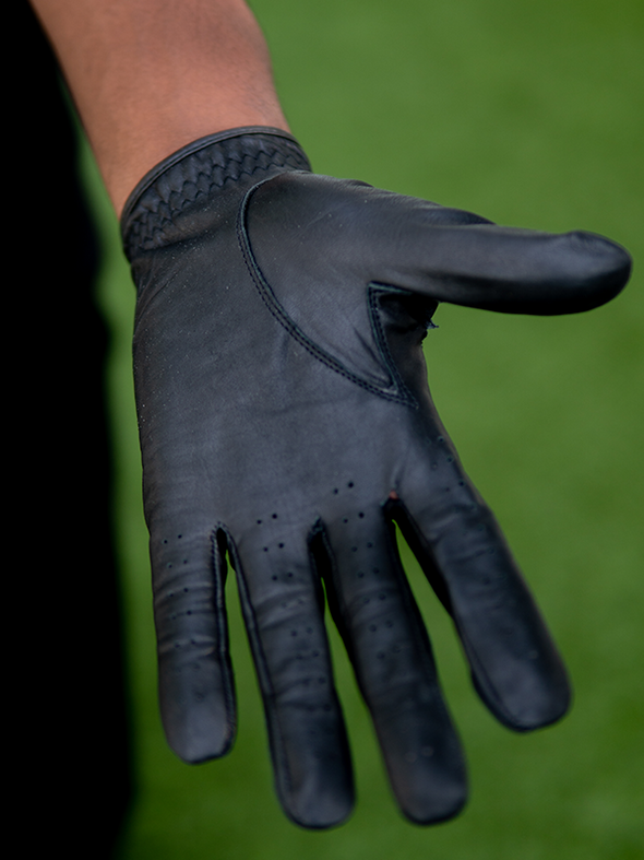 Cabretta Leather Glove - Black
