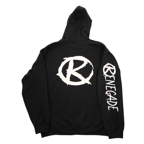 Black and White Hoodie - Renegade Golf