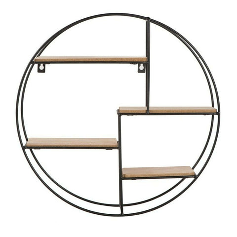 Round Wall Mounted Shelf 40cm-Shelving-The Modern Home Shop