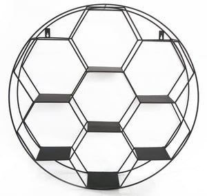 Hexagon Cut Wall Shelf 67cm-Shelving-The Modern Home Shop