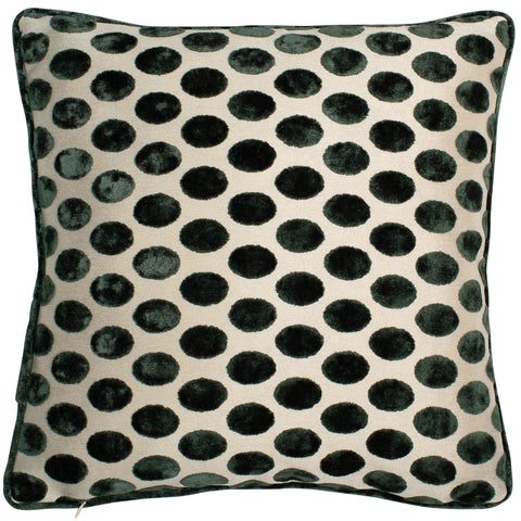 Malini Balham Pine Green Cushion-Cushion-The Modern Home Shop