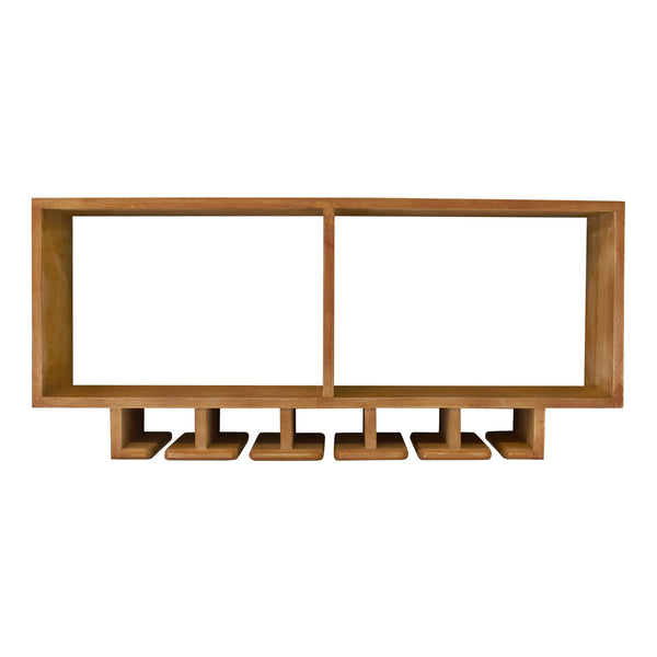 Kitchen Shelving Unit With Storage For Wine Glasses-Shelving-The Modern Home Shop