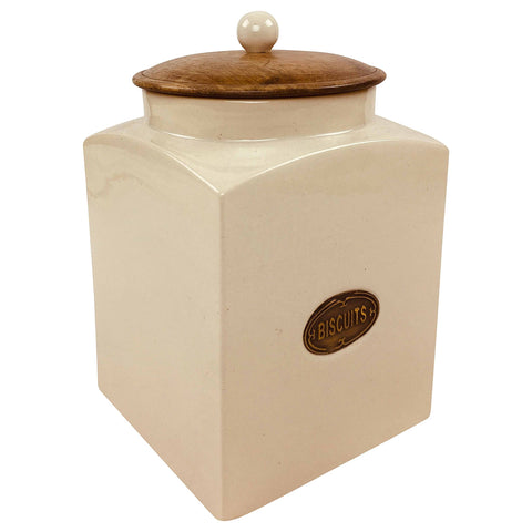 Ceramic Biscuit Jar-Decor-The Modern Home Shop