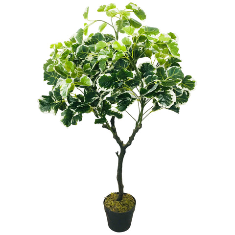 Artificial Money Bag Tree 103cm-Artificial Plant-The Modern Home Shop